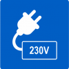 Dedicated 230v power outlet