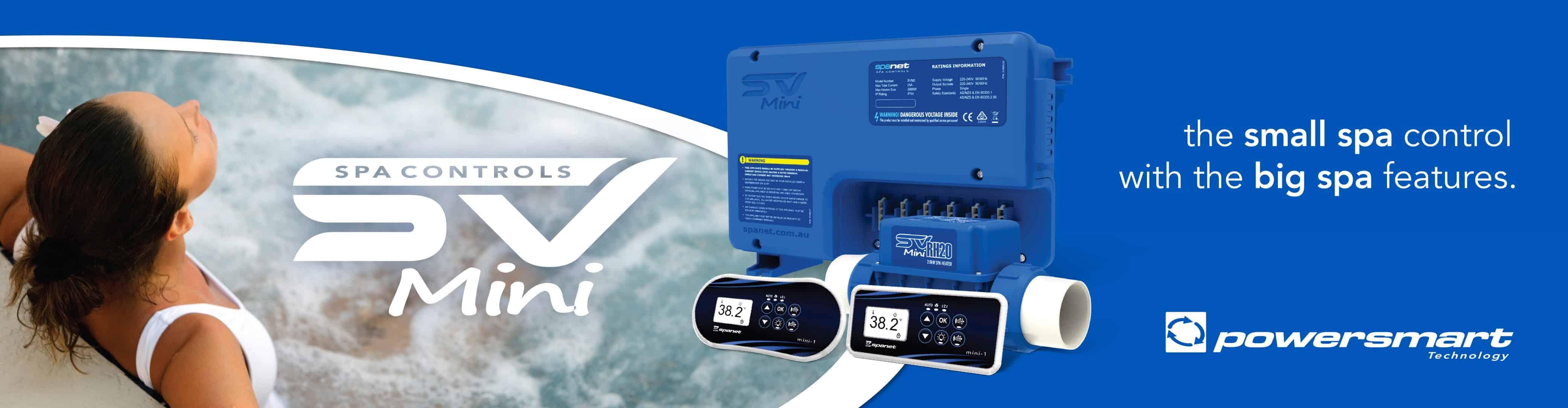 SV Mini Spa Controllers